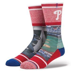 Stance Philadelphia Phillies Veterans Stadium Sock
